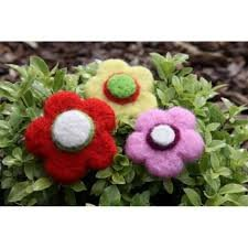 Needle Felting Kit - Flowers - Ashford