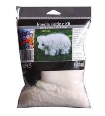 Needle Felting Kit - Sheep - Ashford