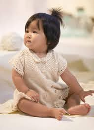 Baby Dress - Blue Sky Fibers