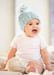Bulky Baby Hat - Blue Sky Fibers