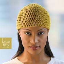 Crochet Beanie - Blue Sky Fibers