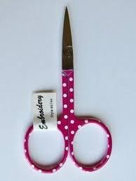 Scissors-Bright Polka Dot