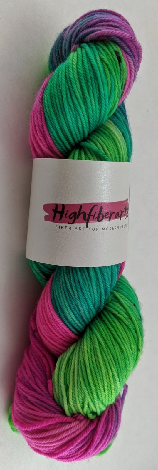 Highfiberartz DK Sock