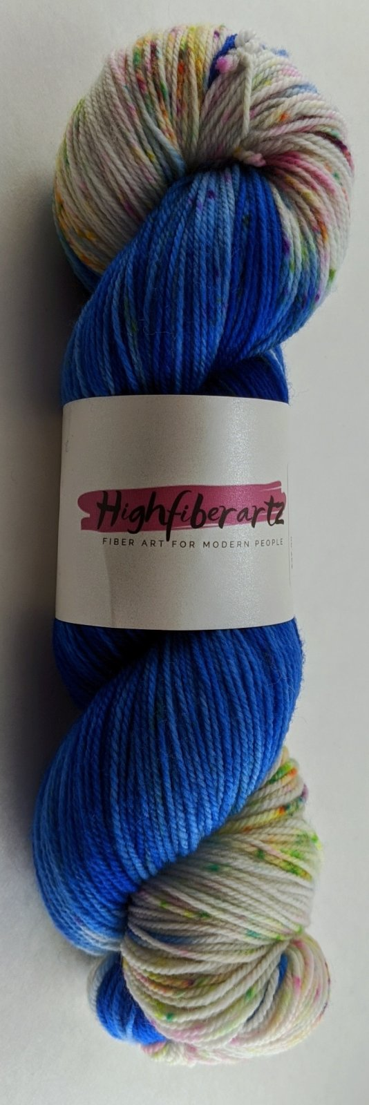 Highfiberartz Targhee Sock