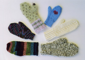 AN # 8: Basic Mittens on 4 Needles
