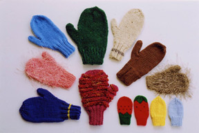 AN #11: Basic Mittens on 2 needles