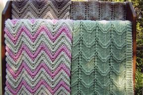 AN #66: Ripple Blanket: Knit & Crochet
