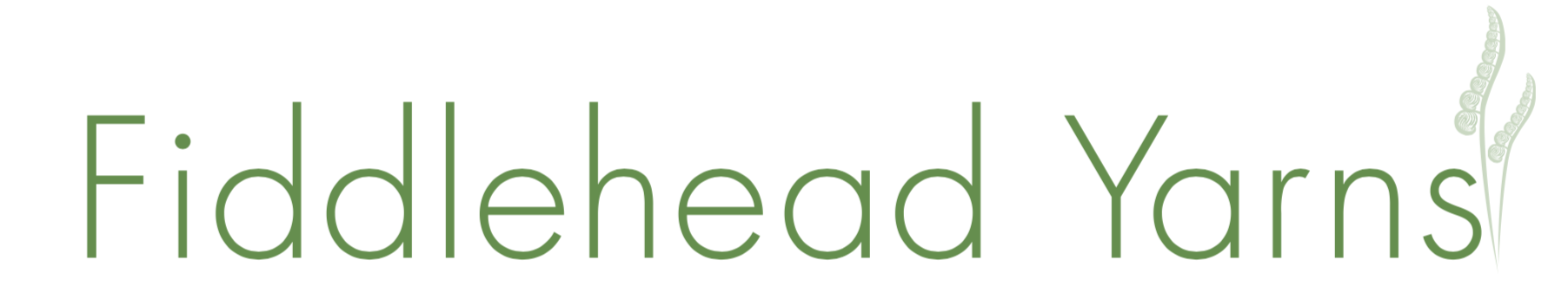 Fiddlehead Yarn logo