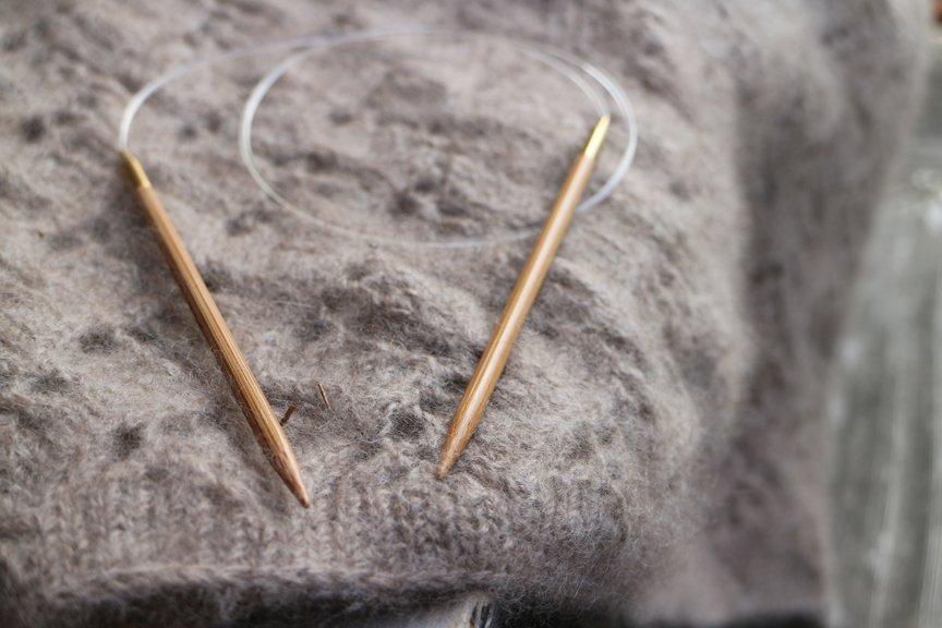 26 Circular Bamboo Needles