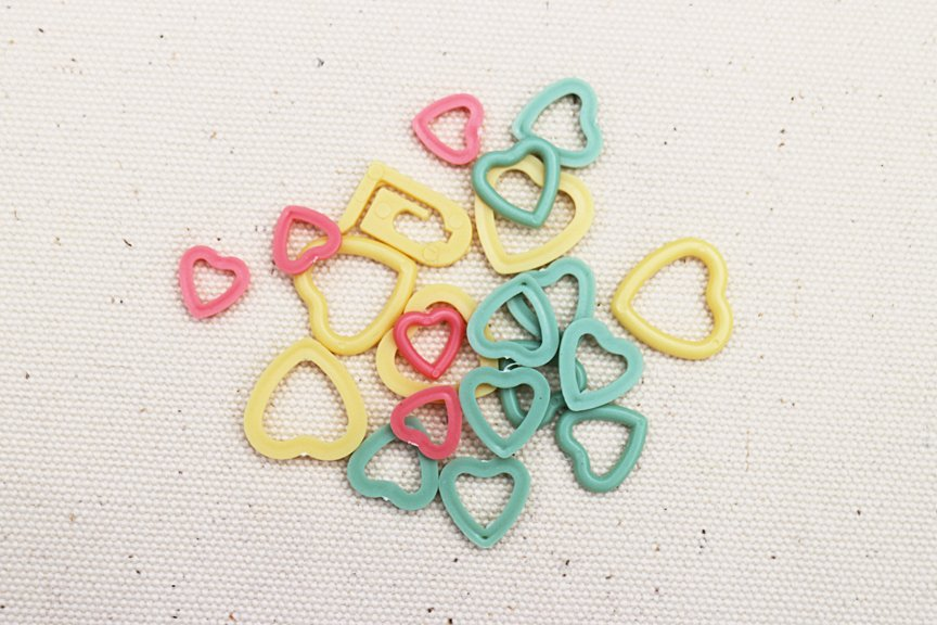 Stitch Markers - Heart