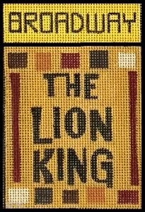 Rcd Lion King Broadway Poster 1745