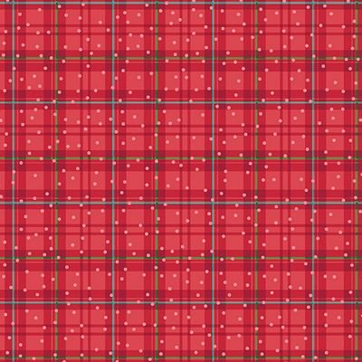 Better Not Pout Winter Plaid Red