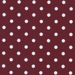White Dots on Maroon