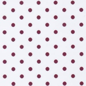 Maroon Dots on White