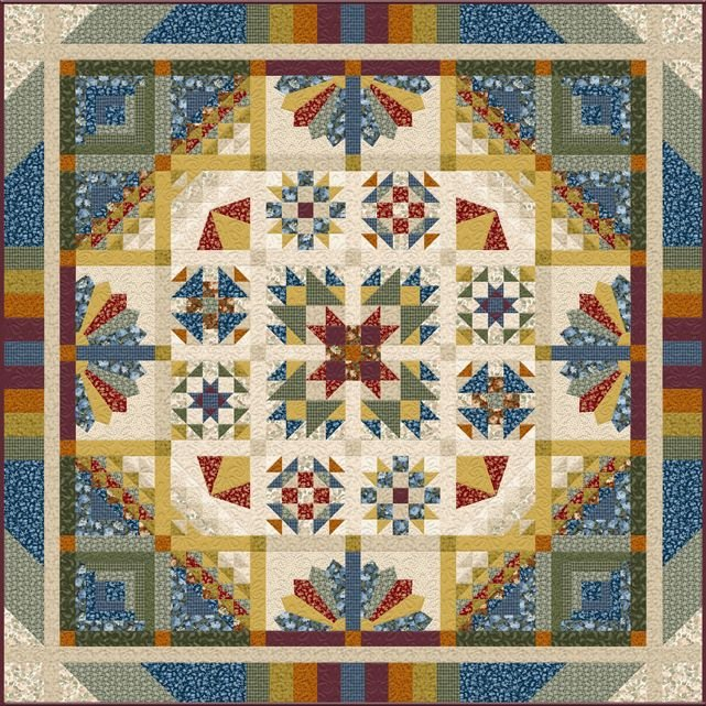 Pre-Order: Reflections by Kaye England Block of the Month Program