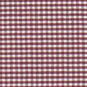 Crimson Gingham, 1/16'
