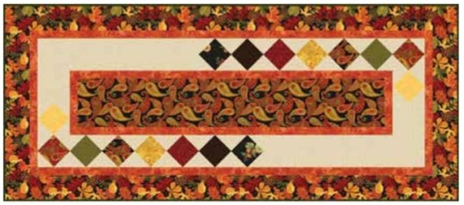 Autumn Abundance Table Runner Kit