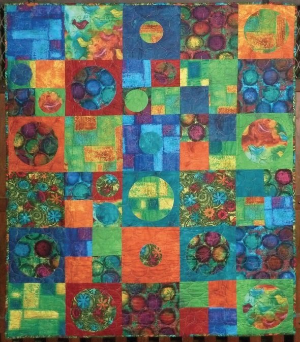 Crop Circles Quilt Kit