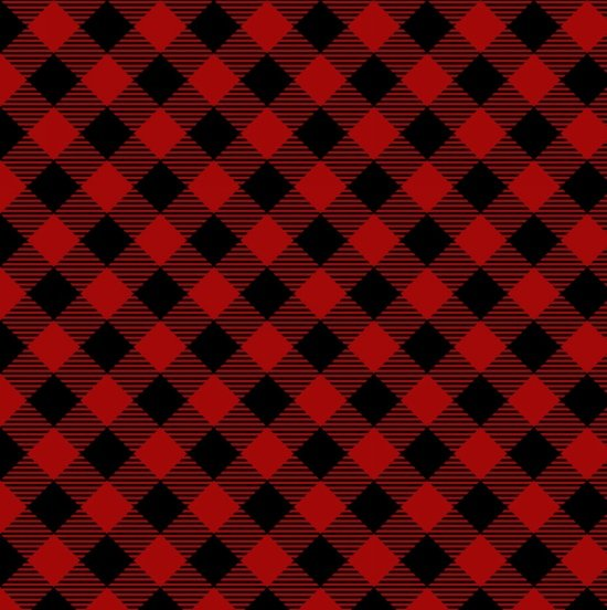 Holiday Homecoming red/black plaid