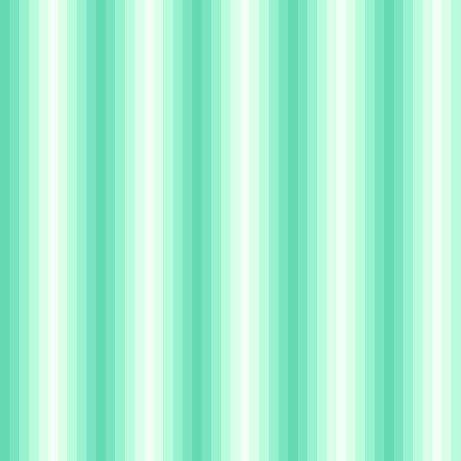 Butterscotch Stripes in Mint