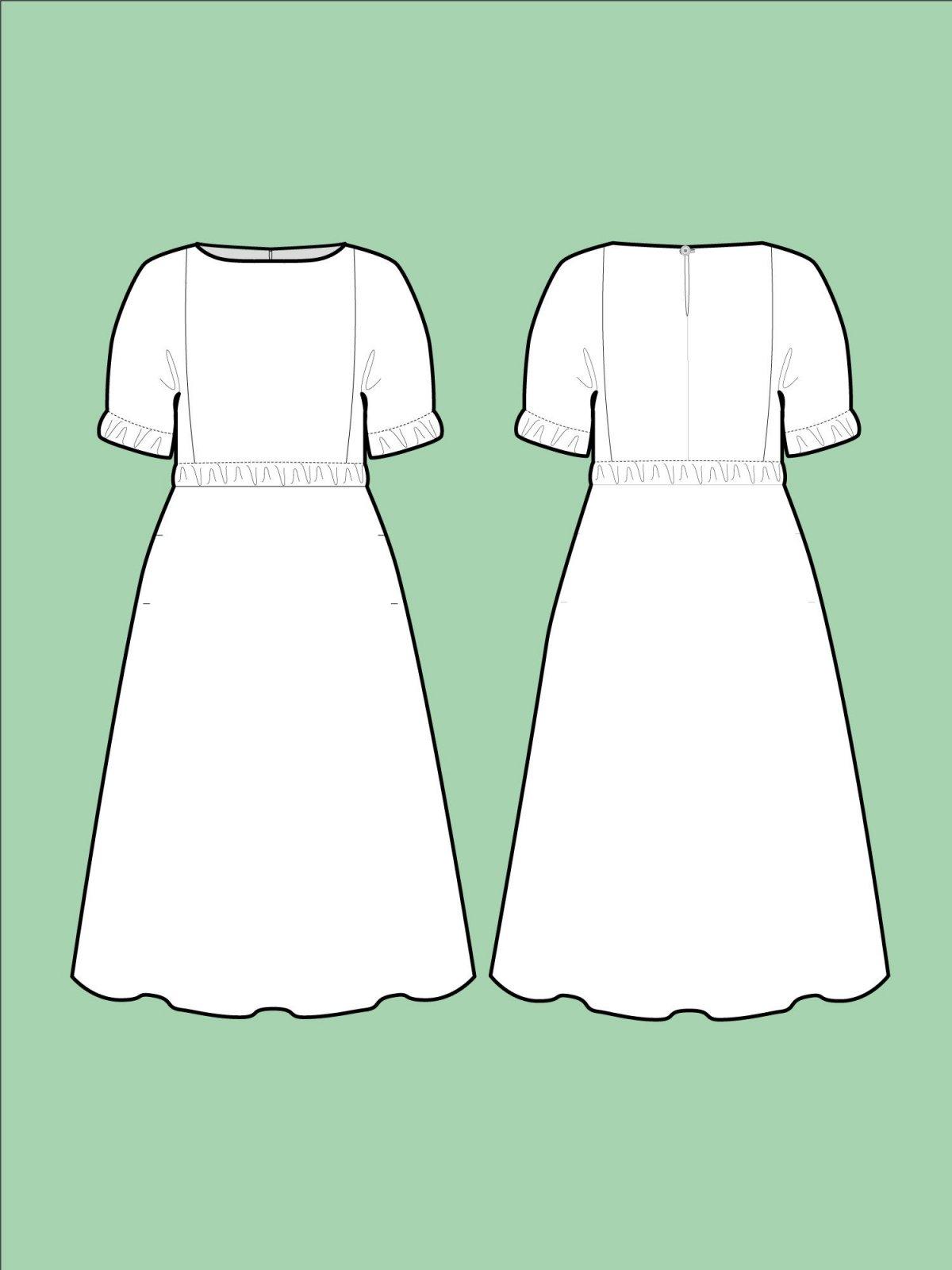 TAL D107 Cuff Dress