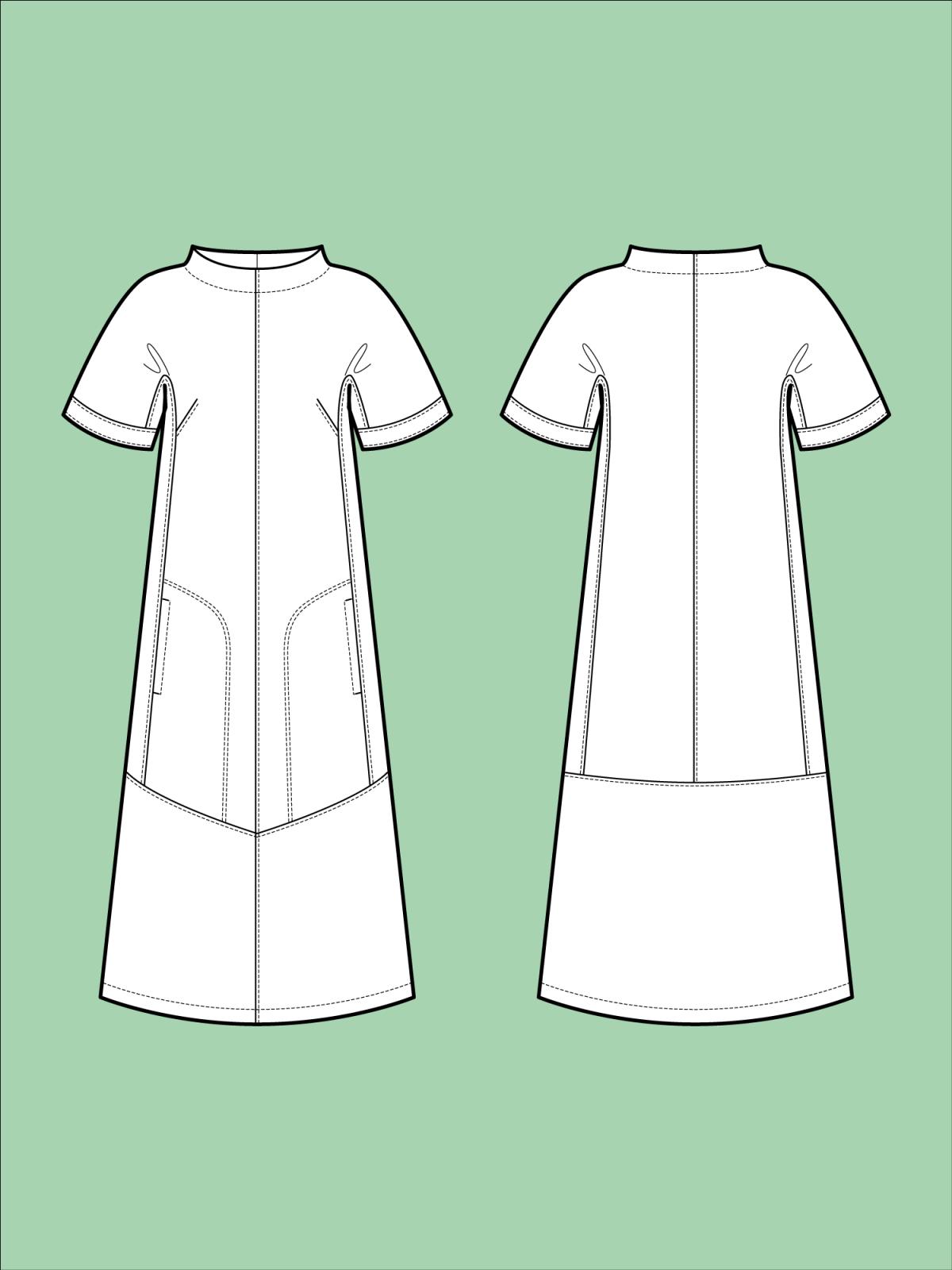 TAL D104 Cap Sleeve Dress