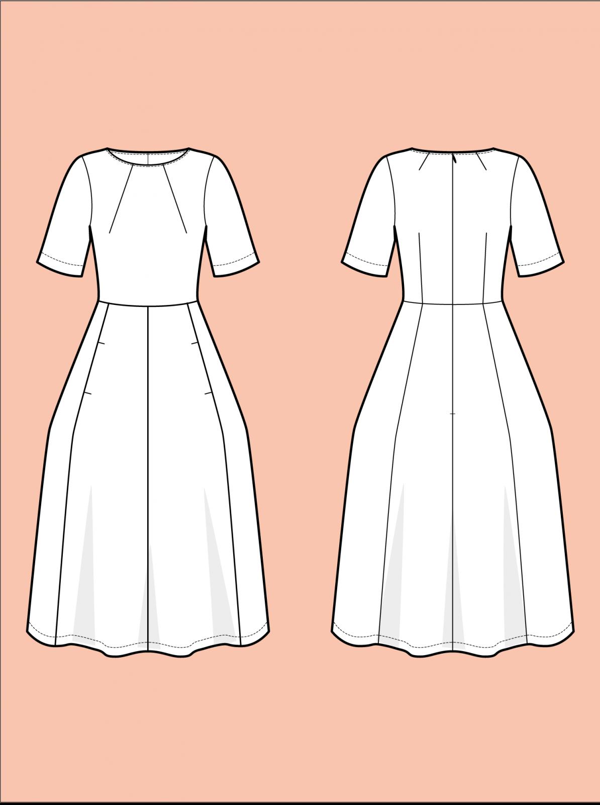 TAL D105 Tulip Dress