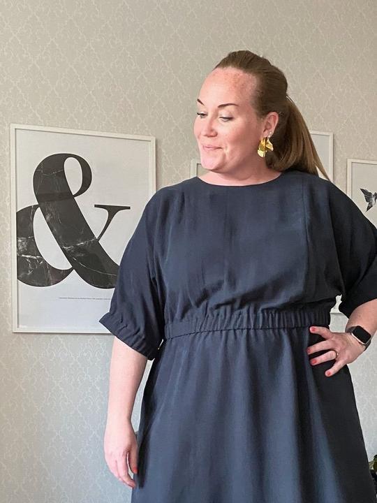 TAL D107XL Cuff Dress XL-3XL