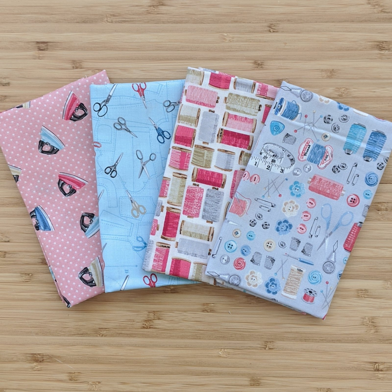 Stitch in Time FQ Bundle, 4 pc