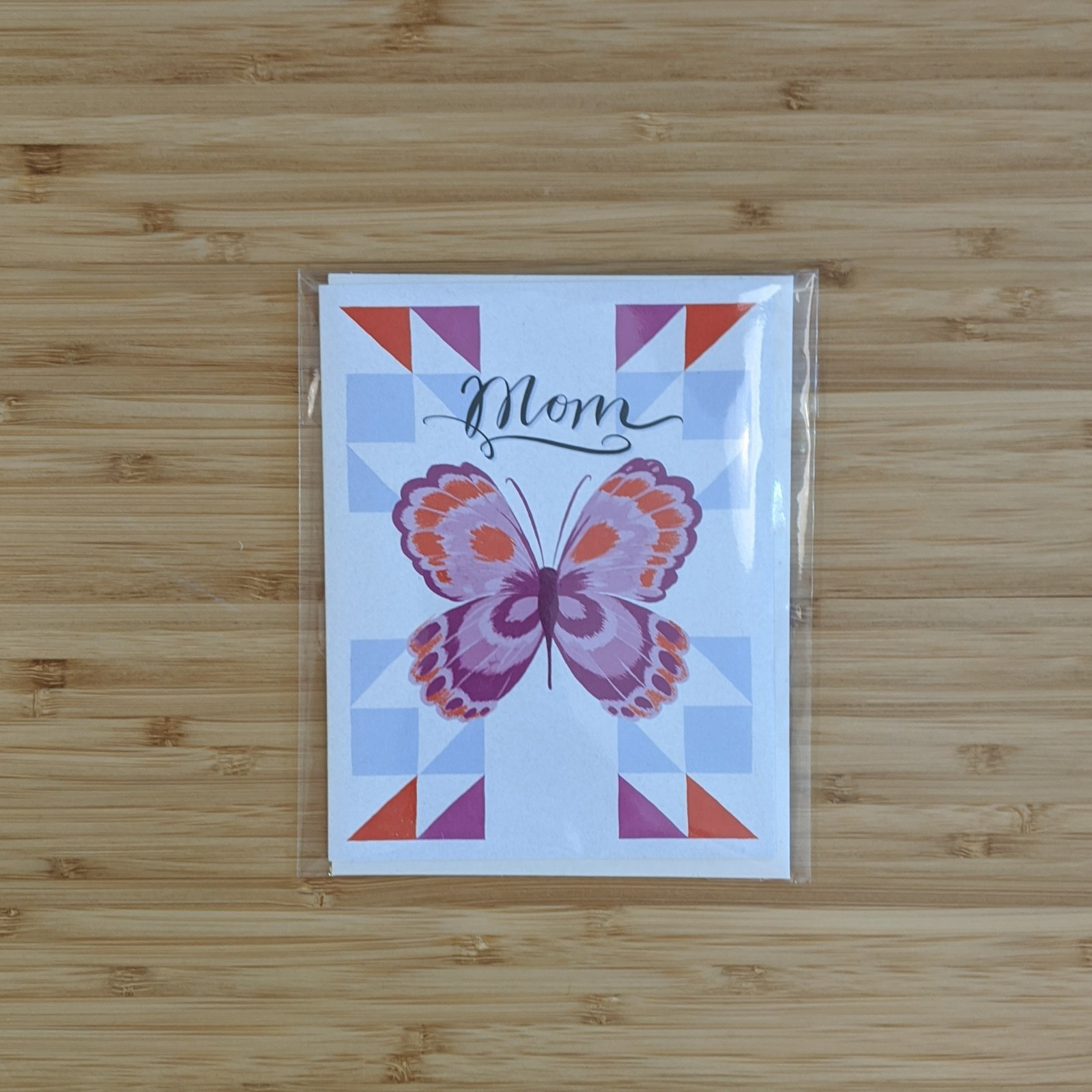 Mom Butterfly Card