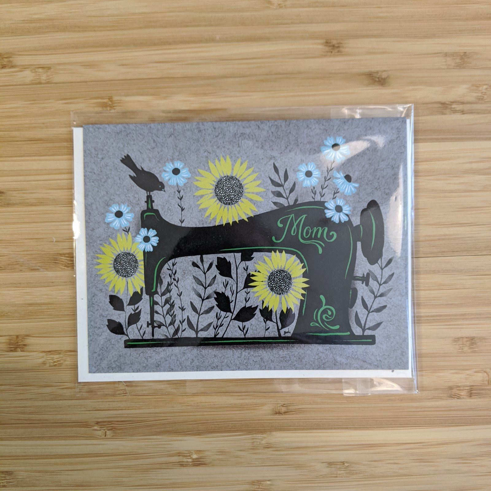 Sewing Machine Mama Card