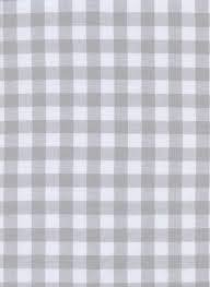 Checkers 1 Inch Gingham in Linen