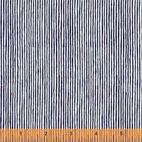 Sweet Oak Candy Stripe in Navy