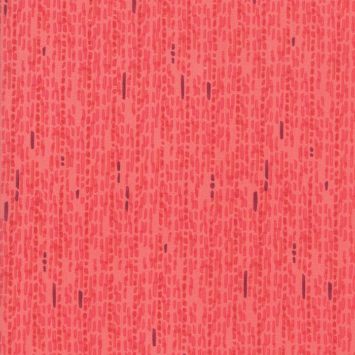 Painted Meadow Watercolors Stripe in Coral