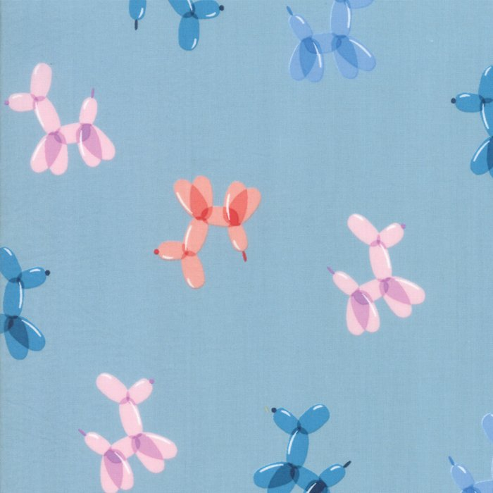 Pop Balloon Animals in Cotton Candy Blue