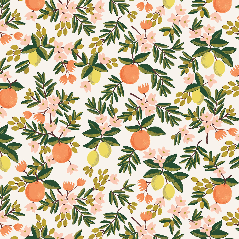 Rifle Primavera Citrus Floral in Cream