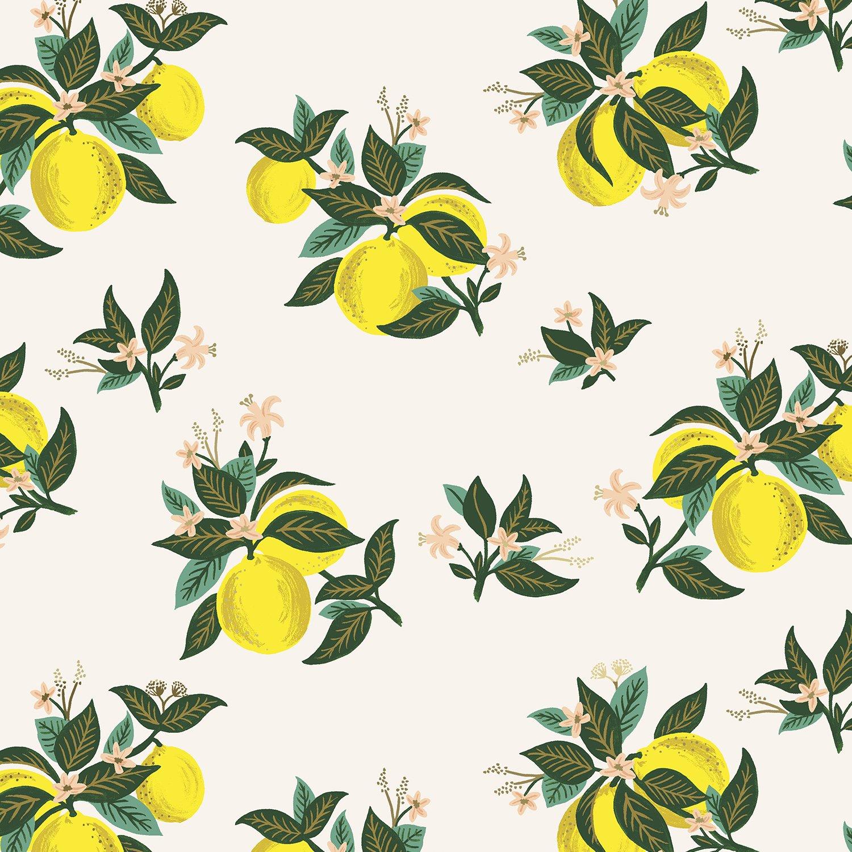 Rifle Primavera Citrus Blossom in Lemon Rayon