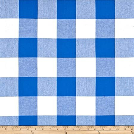 Checkers 2.5 Inch Gingham in Cobalt
