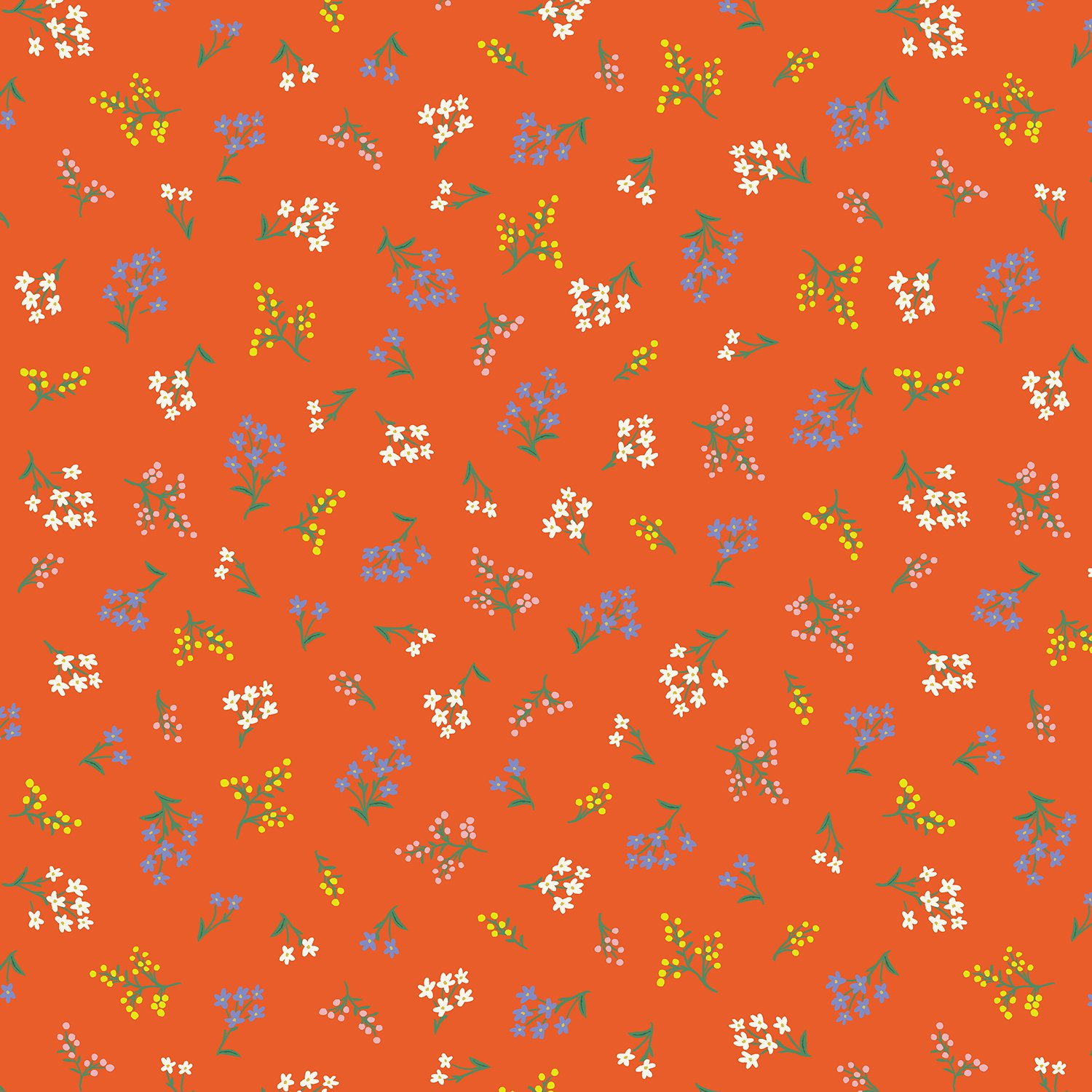 Rifle Strawberry Fields Petites Fleurs in Red