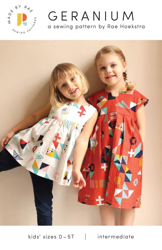 Geranium Dress 0-5T