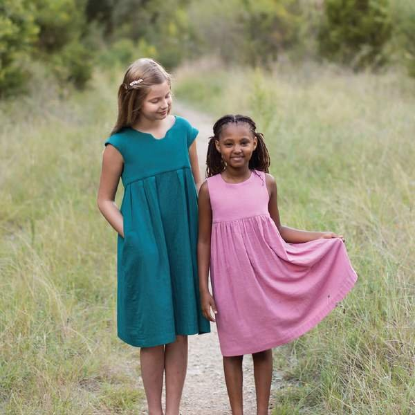 Geranium Dress 6-12