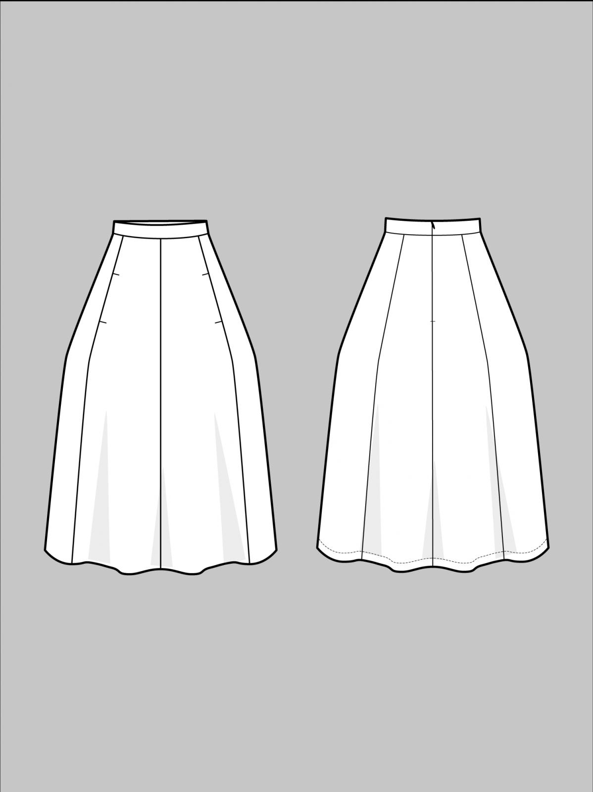 TAL S402 Tulip Skirt
