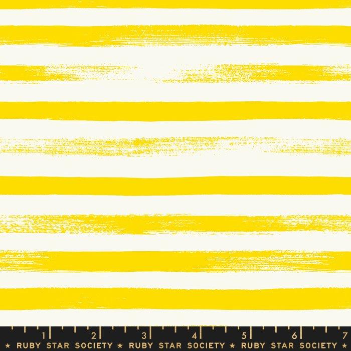 Zip Stripe in Lemon Yellow