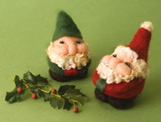 Santa & Elf Needle Felting Kit
