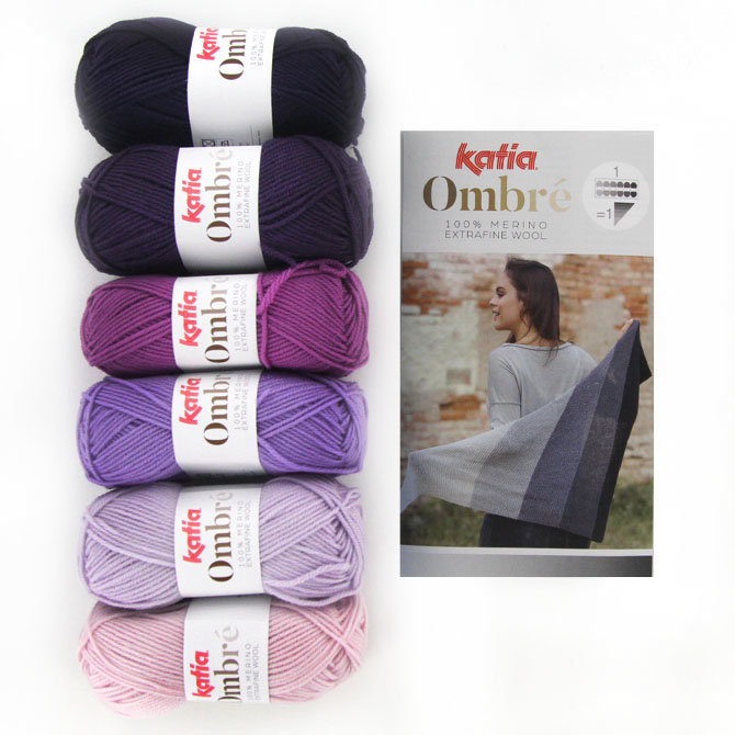 Katia Ombre Yarn Kits