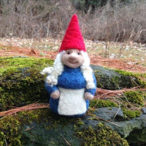 Going Gnome Needle Felting Classic Girl Kit