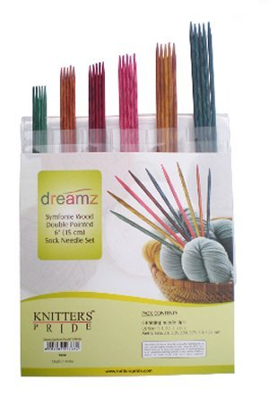 Knitter's Pride Dreamz Double Pointed 6 Sock Needle Set
