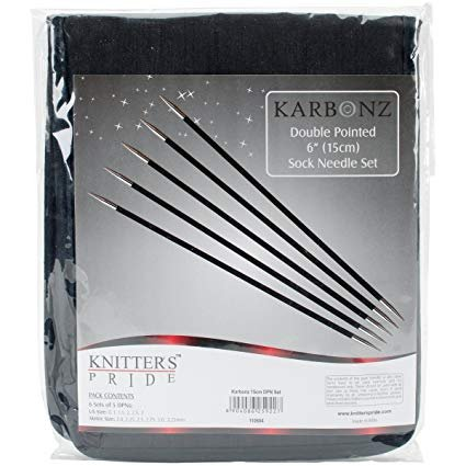 Knitter's Pride Karbonz 6 Double Pointed Needle Set