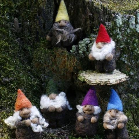 Going Gnome Needle Felting Mini Gnome Kit