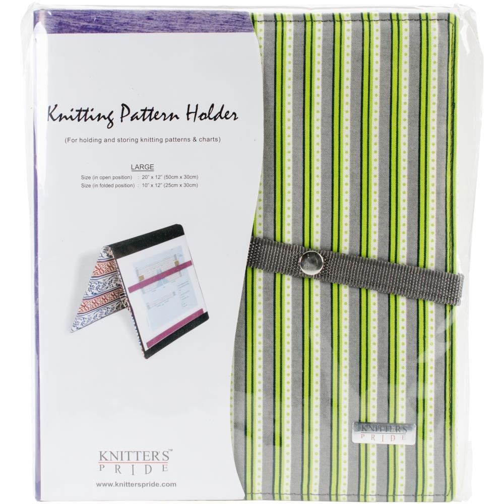 Knitter's Pride-Fold-Up Knitting Pattern Holder 10X12 Greenery